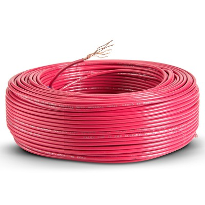 Foto de producto Cable thw 14 awg rojo 100 m