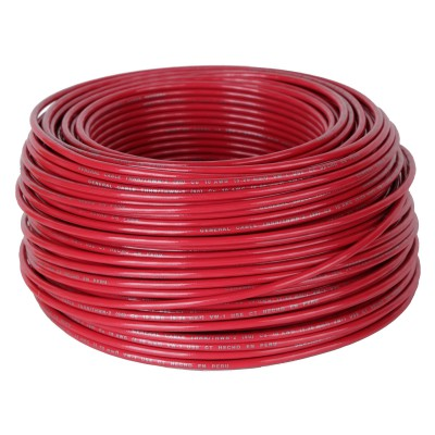 Cable Thn 10 Awg Rojo 100 M Maestro