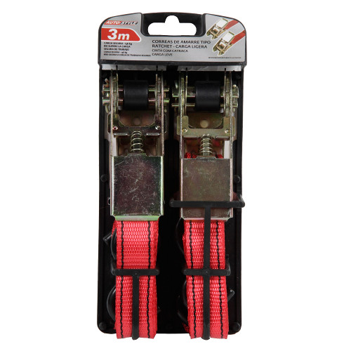 Foto - Pack 2 Correas 25mmx3m Ratchet