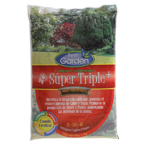 Foto - Fertilizante 1kg Super Tripl