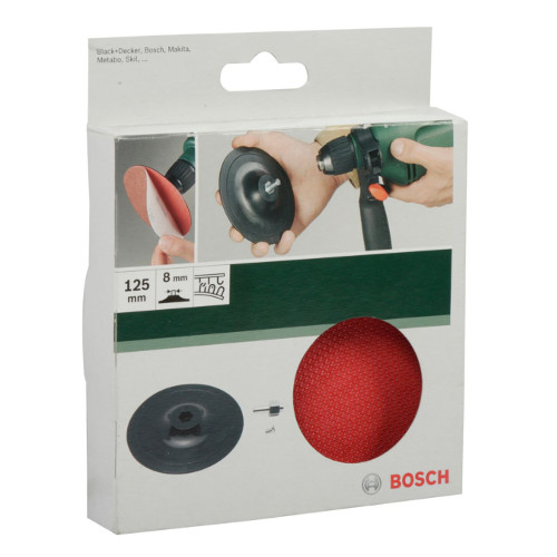 Foto - Backing Pad Velcro Drills125mm
