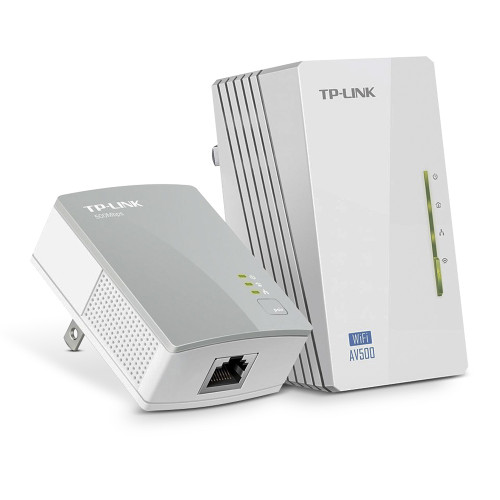 Foto de Kit Ext Powerline Wifi 300Mbps